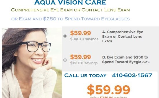 $59.99 ($400.00 value) for Comprehensive Eye Exam or Contact Lens Exam