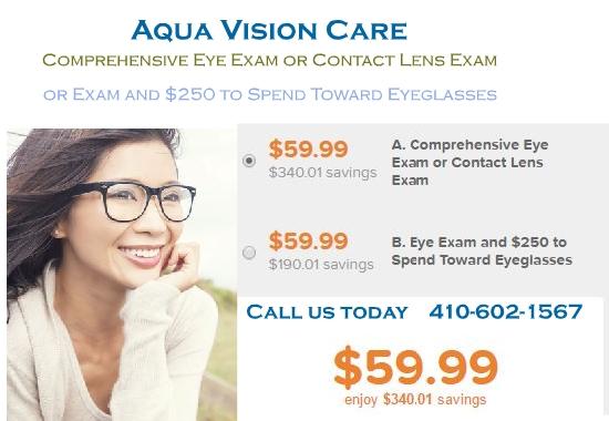 $59.99 ($400.00 value) for Comprehensive Eye Exam or Contact Lens Exam